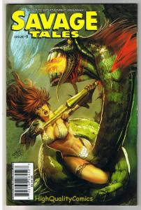 SAVAGE TALES #5, NM, Pablo Marcos, Red Sonja, Femmes, 2007, more RS in store