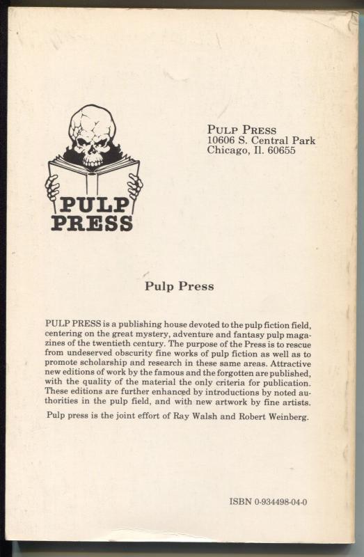 Operator #5 3/1980-Dimedia-reprints pulp of 12/1934-Legions of Starvation-VF
