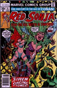 Red Sonja #6 ( 1st Series ) - 8.0 or Better