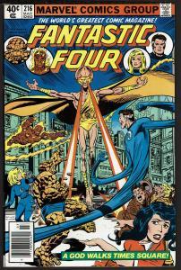 Fantastic Four #216 (Mar 1980, Marvel) 7.5 VF-