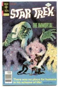Star Trek #47 1977- Gold Key comics FN