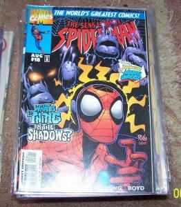 SENSATIONAL SPIDER-MAN COMIC # 18  1987  Marvel   THE VULTURE + PROWLER