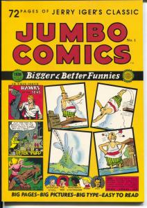 Jumbo Comics #1 1985-reprints 1st issue of Jumbo Comics-Sheena-Eisner-F/VF