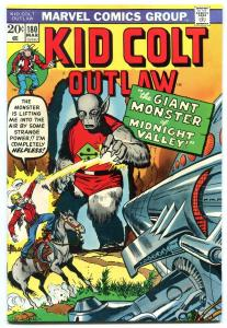 Kid Colt Outlaw #180 1974- high grade nm- Jack Kirby Sci-fi cover