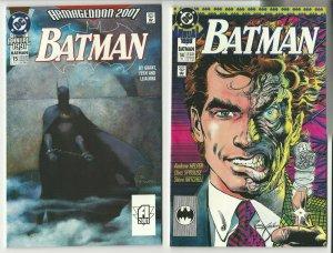 Batman Annuals # 13 14 and 15 DC Comics 1988-1993 NM 9.4