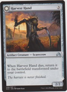 Magic the Gathering: Shadows Over Innistrad - Harvest Hand/Scrounged Scythe