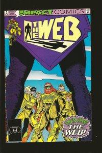 Impact Comics The Web No 2 October 1991