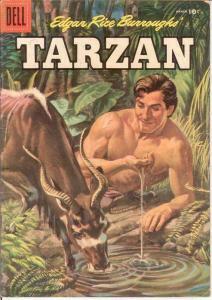 TARZAN 78 G-VG    March 1956 COMICS BOOK