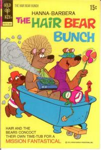 HAIR BEAR BUNCH 6 VF 1973 COMICS BOOK