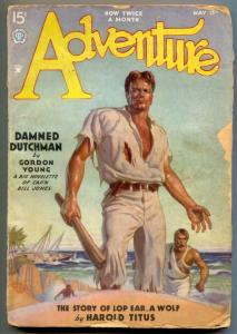 Adventure Pulp May 15 1935- Damned Dutchman G