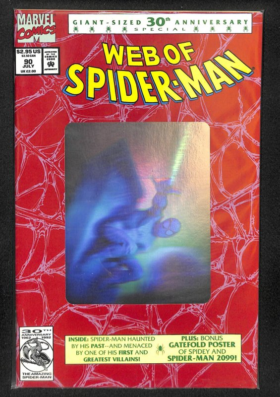 Web of Spider-Man #90 (1992)