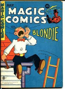Magic #60 1944-McKay-Mandrake-Dagwood-Popeye-Lone Ranger-Blondie-VF-