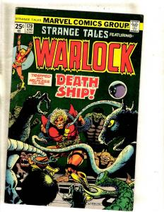 Strange Tales # 179 VF Marvel Comic Book Dr. Strange Nick Fury Shield FM2