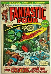FANTASTIC FOUR#126 VG/FN 1972 MARVEL BRONZE AGE COMICS
