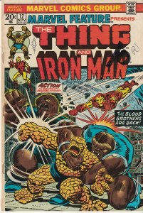 Marvel Feature # 12   Thing and Iron Man