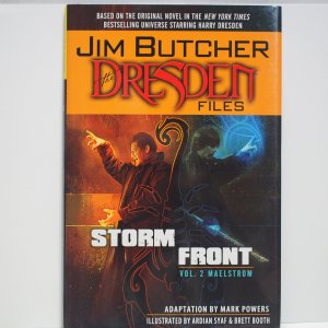 Storm Front Vol.2 The Dresden Files Hardcover Graphic Novel New and Unread