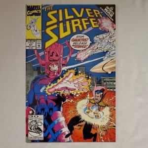 Silver Surfer 67 Near Mint Art by Ron Frenz