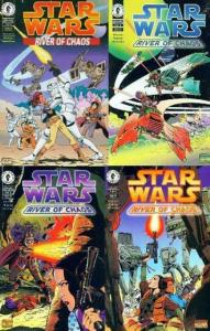 STAR WARS RIVER OF CHAOS (1995 DH) 1-4  Complete Story! COMICS BOOK