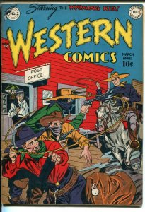 WESTERN #2 1948-DC-WYOMING KID-VIGILANTE-vg