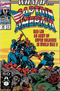 WHAT IF CAPTAIN AMERICA LED A ARMY OF SUPER SOLDIER IN WW2 FN//VG MARVEL COMICS