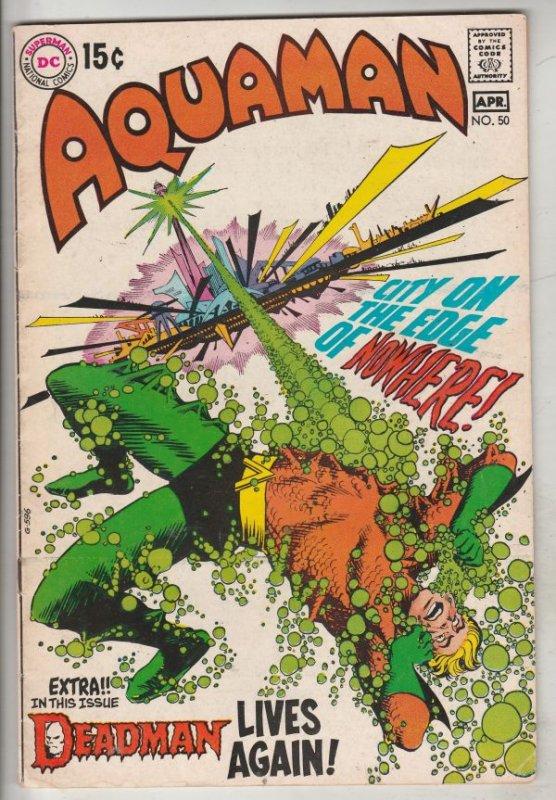 Aquaman #50 (Apr-70) VF+ High-Grade Aquaman, Aqualad, Mira