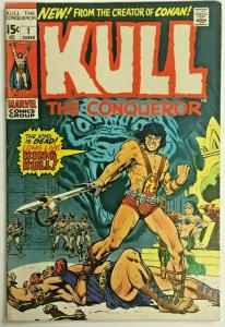 KULL THE CONQUEROR#1 FN/VF 1971 MARVEL BRONZE AGE COMICS