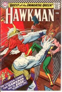 HAWKMAN 13 G-VG   May 1966 COMICS BOOK