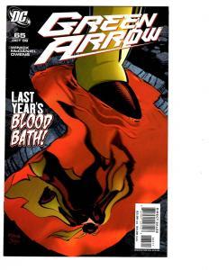 5 Green Arrow DC Comic Books # 65 66 67 68 69 Batman Speedy Connor Hawke BH27
