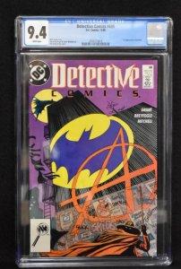 Detective Comics #608 (DC, 1989) CGC 9.4 - 1st Anarky