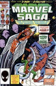 Marvel Saga #9, VF+ (Stock photo)