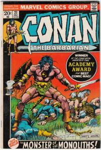 Conan the Barbarian #21 (Dec-72) VF- High-Grade Conan the Barbarian
