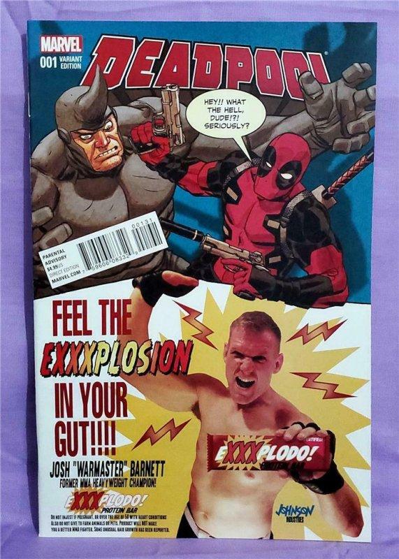 Gerry Duggan DEADPOOL #1 Dave Johnson Candy Variant Cover (Marvel, 2016)!