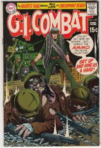 G.I. Combat #142 (Jul-70) VF+ High-Grade The Haunted Tank