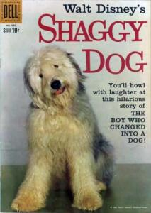 Shaggy Dog & The Absent-Minded Professor #1, Good+ (Stock photo)