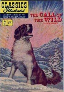 Classics Illustrated (Gilberton) #91 VG; Gilberton | low grade comic - save on s