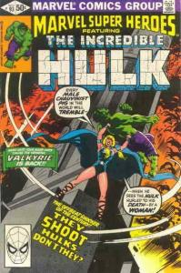 Marvel Super-Heroes (Vol. 1) #93 FN; Marvel | save on shipping - details inside