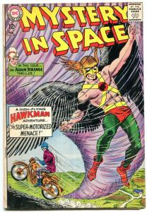 Mystery In Space #89 1964- Hawkman- Adam Strange-- Motorcycle cover VG-
