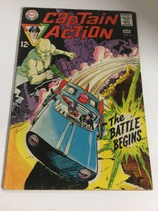 Captain Action 2 Vg/Fn Very Good/Fine 5.0 DC Comics Silver Age