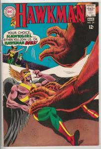 Hawkman #24 (Mar-68) VF/NM High-Grade Hawkman