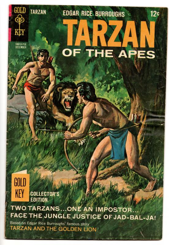Tarzan Of The Apes #173 - Jad-Bal-Ja & The Impostors (Gold Key, 1967) - VG/FN