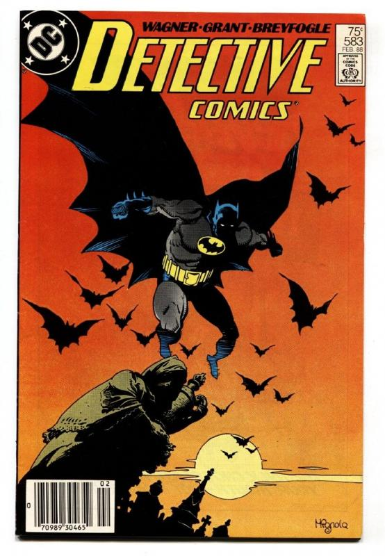 Detective Comics #583 Newsstand variant 1988-1st SCARFACE and VENTRILOQUIST