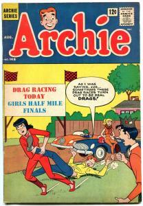 Archie Comics #148 1964-Drag Racing / ice cream cover- Betty & Veronica vg+