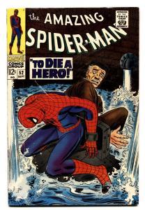 AMAZING SPIDER-MAN #52 comic book 1967-JOE ROBERTSON- KINGPIN vg+