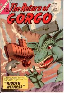 RETURN OF GORGO 3 G-VG Dikto art  Fall 1964 COMICS BOOK