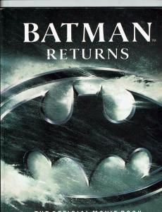 Batman Returns The Official Movie Book Michael Singer Bantam Books J146