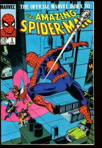 OFFICIAL MARVEL INDEX TO AMAZING SPIDER-MAN #3 VF