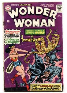 WONDER WOMAN #160 First Silver-Age CHEETAH 1966-DC  comic book