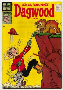 Dagwood #91 1958- Harvey comics- high grade VF+