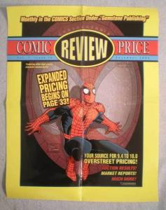 OVERSTREET'S REVIEW Promo poster, SPIDER-MAN, 2004, Unused, more in our store