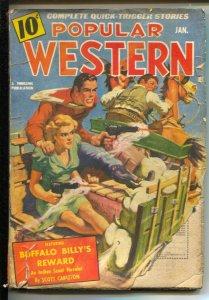 Popular Western 1/1941Thrilling-Buffalo Billy story by Scott Carleton-G-